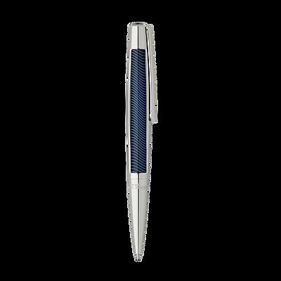 S.T. Dupont Défi Blue Vibration Ballpoint Pen