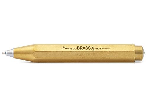 Kaweco Brass Sport Click Ballpoint