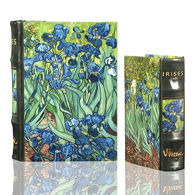 Van Gogh Iris Book Box (2 Sizes)