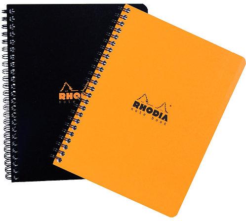 "Rhodia A4 Lined w/ Margin Spiral Notebook (8 ¼x 11 ¾ "")"