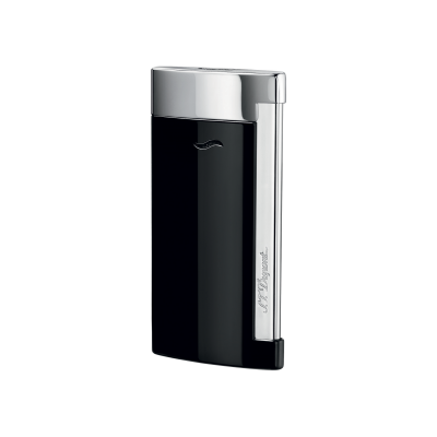 S.T. Dupont Slim 7 Black Chrome Lighter