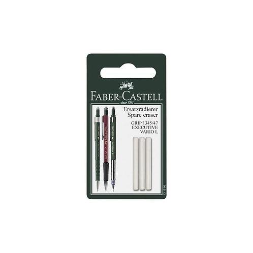 Faber-Castell Eraser Refills for TK® Fine Vario L Pencils - 3 pack