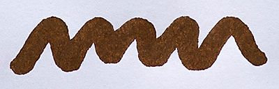 Diamine Saddle Brown Ink