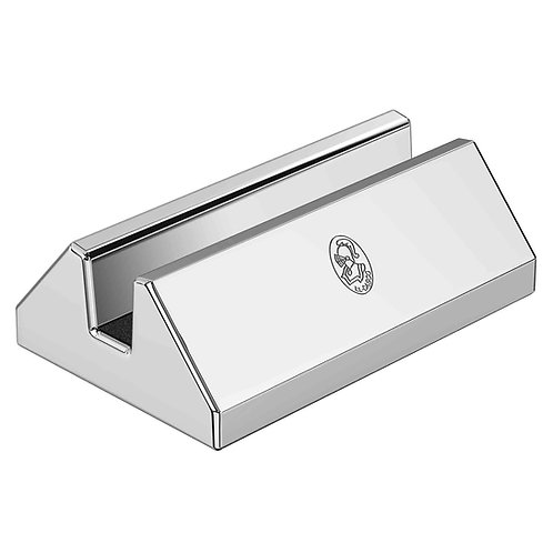El Casco Chrome Plated Desk Card Holder M-670