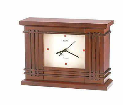 Bulova Martin House Mantel Clock