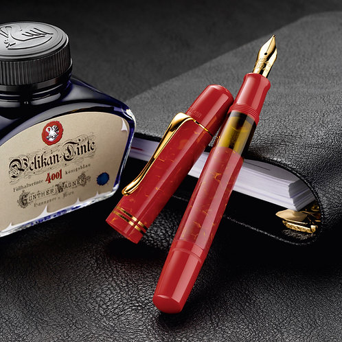 Pelikan M101N Bright Red Special Edition Fountain Pen