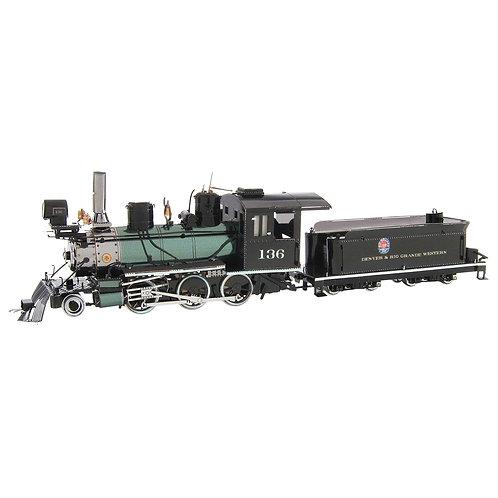 Metal Earth 2-6-0 D&RGW Locomotive
