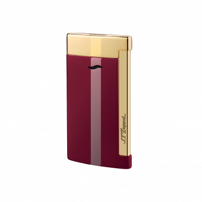 S.T. Dupont Slim 7 Lotus Red Lighter