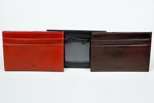 Capitol Shirt Pocket Wallet with Leather Lining