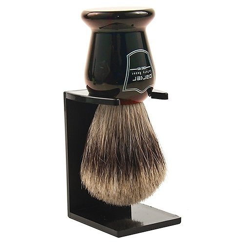 Parker Tortoise Handle Pure Badger Brush