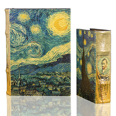 Van Gogh Starry Night Book Box (2 Sizes)