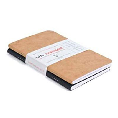 """Clairefontaine Basics 2-Pack 3.5x5.5"""" Notebooks"""