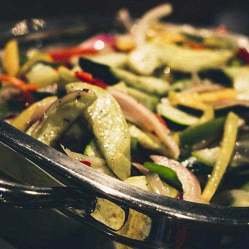 Grilled Vegetables (For 20 People)