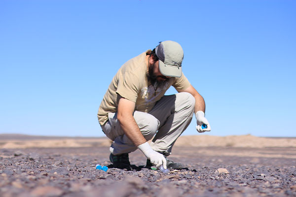 Sampling for life in the hyperarid core of the Atacama Desert