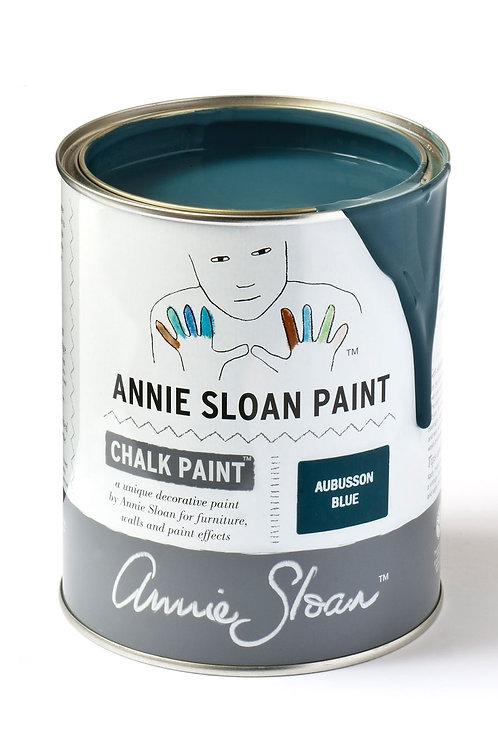 1 Litre of Aubusson Blue Chalk Paint® by Annie Sloan