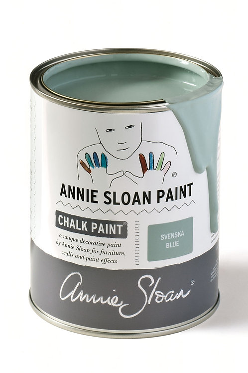 1 Litre of Svenska Blue Chalk Paint® by Annie Sloan