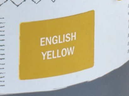 Sample Tin (120mL) of English Yellow Chalk Paint® by Annie Sloan