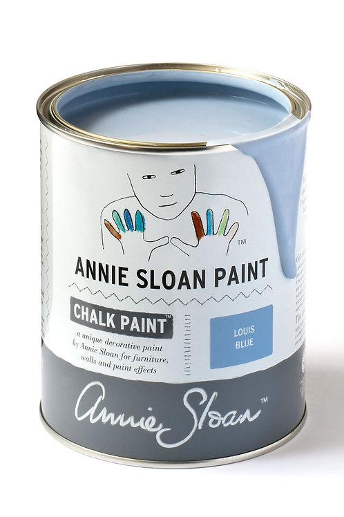 1 Litre of Louis Blue Chalk Paint® by Annie Sloan