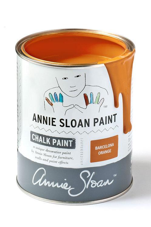 1 Litre of Barcelona Orange Chalk Paint® by Annie Sloan
