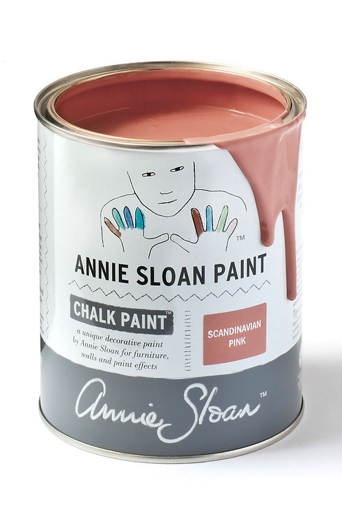 1 Litre of Scandinavian Pink Chalk Paint® by Annie Sloan