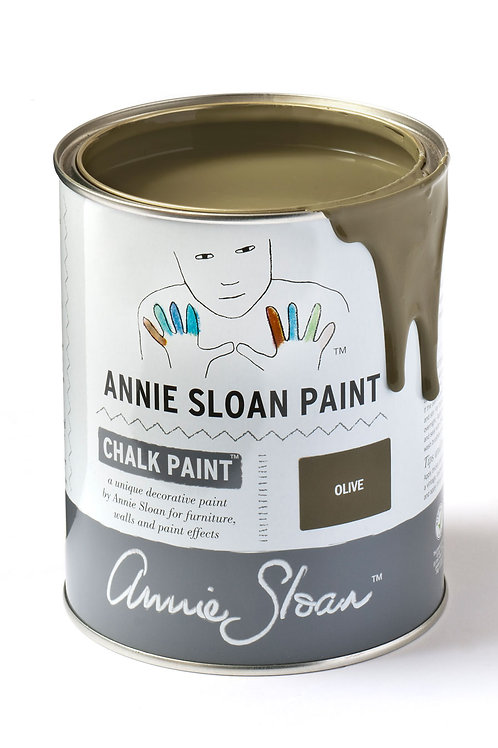 1 Litre of Olive Chalk Paint® by Annie Sloan