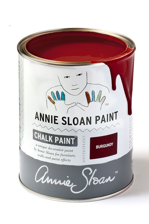 1 Litre of Burgundy Chalk Paint® by Annie Sloan