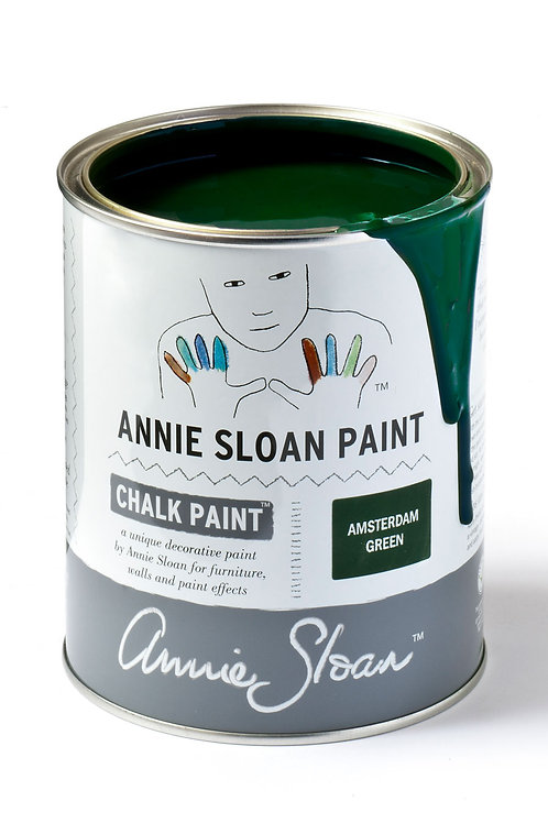 1 Litre of Amsterdam Green Chalk Paint® by Annie Sloan