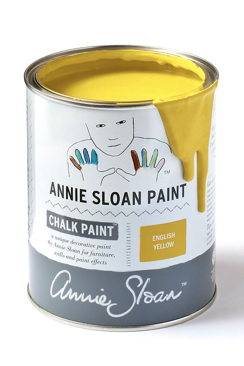1 Litre of English Yellow Chalk Paint® by Annie Sloan