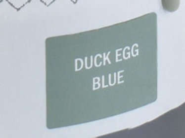 Sample Tin (120mL) of Duck Egg Blue Chalk Paint® by Annie Sloan