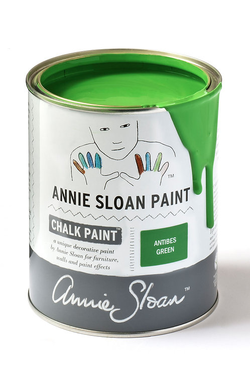 1 Litre of Antibes Green Chalk Paint® by Annie Sloan