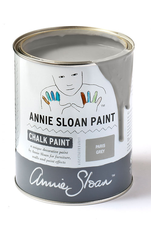 1 Litre of Paris Grey Chalk Paint® by Annie Sloan
