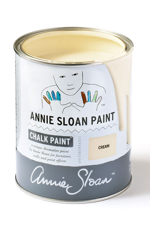 1 Litre of Cream Chalk Paint® by Annie Sloan