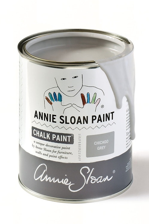 1 Litre of Chicago Grey Chalk Paint® by Annie Sloan