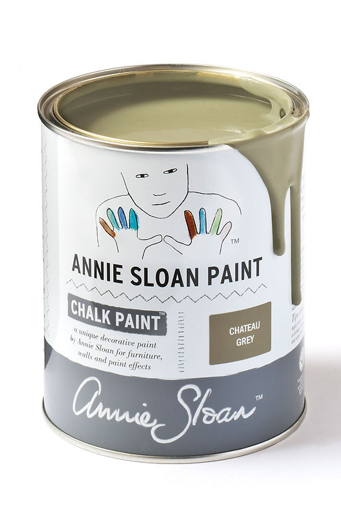 1 Litre of Chateau Grey Chalk Paint® by Annie Sloan
