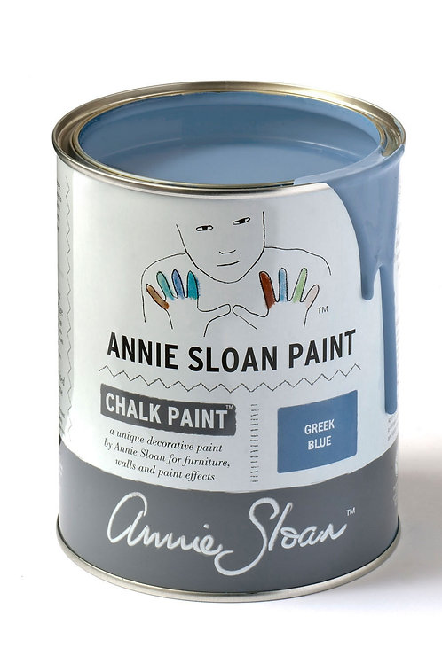 1 Litre of Greek Blue Chalk Paint® by Annie Sloan