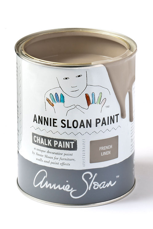 1 Litre of French Linen Chalk Paint® by Annie Sloan