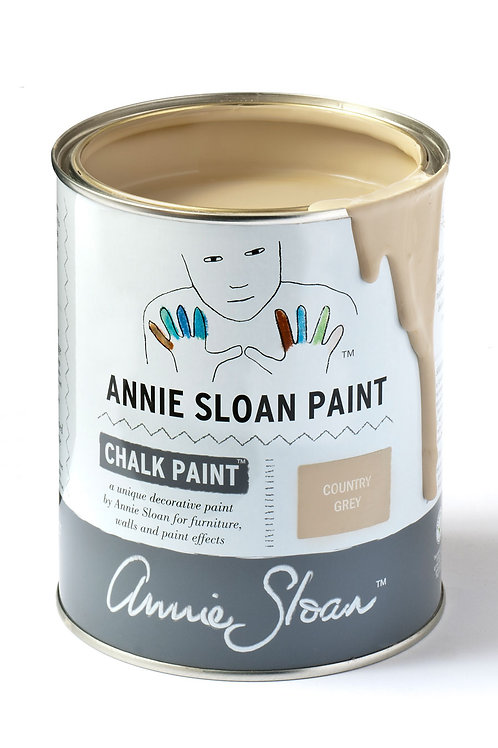 1 Litre of Country Grey Chalk Paint® by Annie Sloan