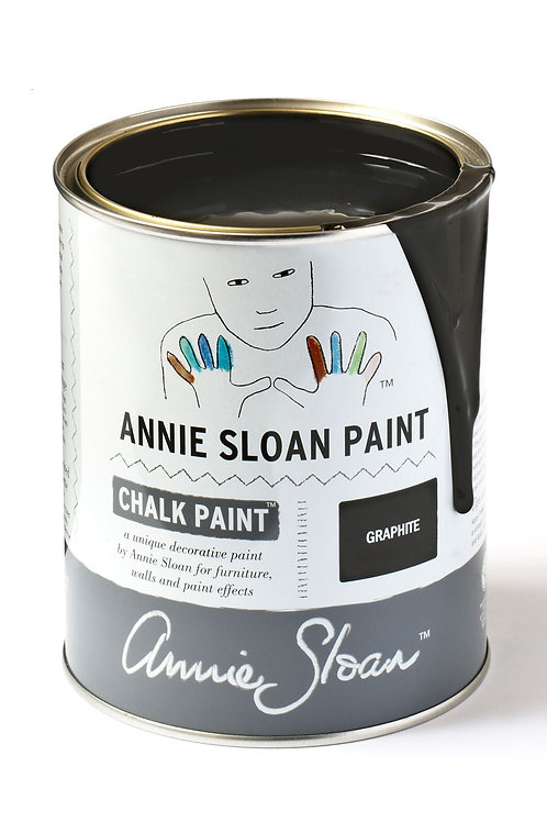 1 Litre of Graphite Chalk Paint® by Annie Sloan