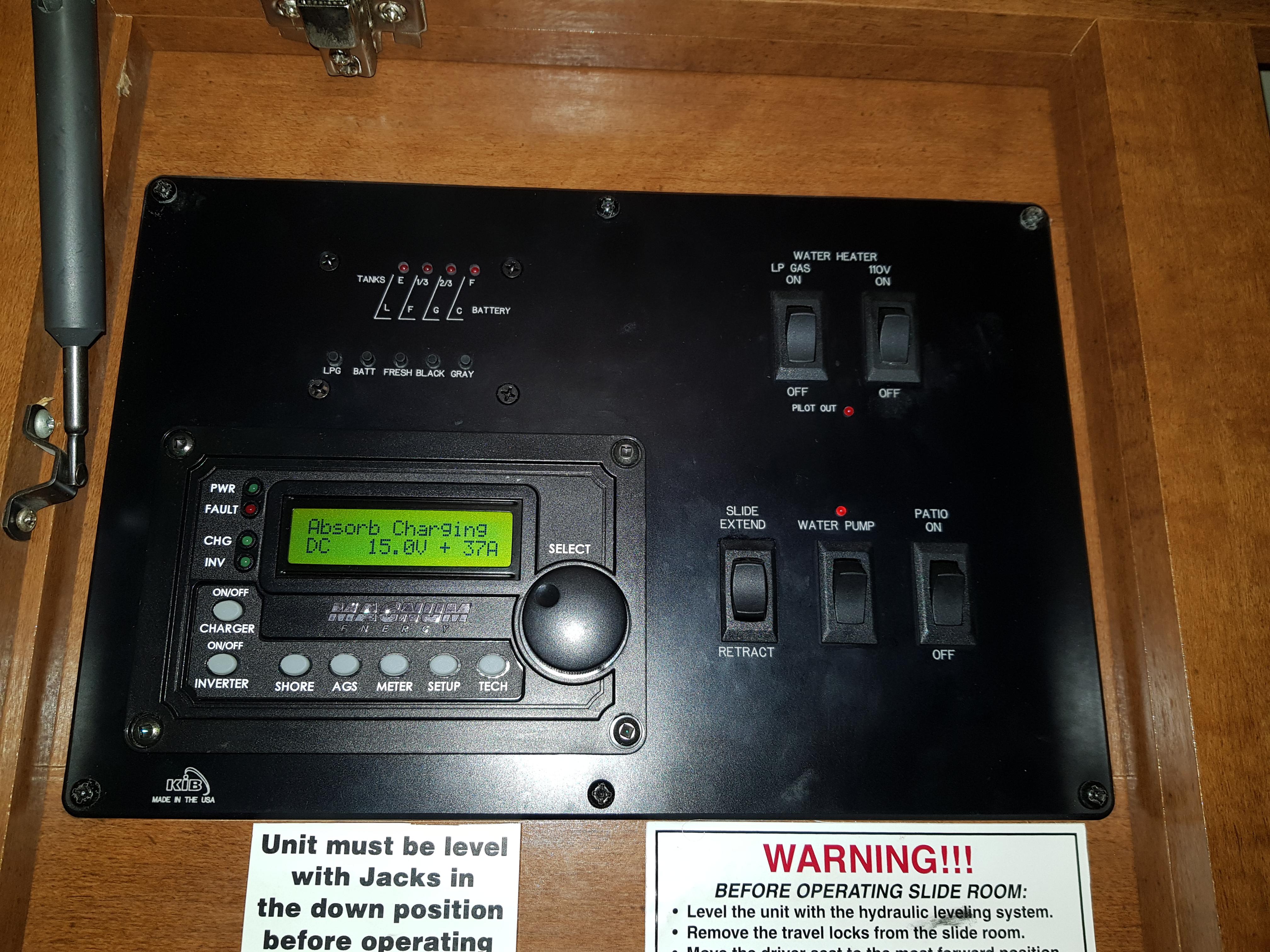De flesta kontroller samlade här.
