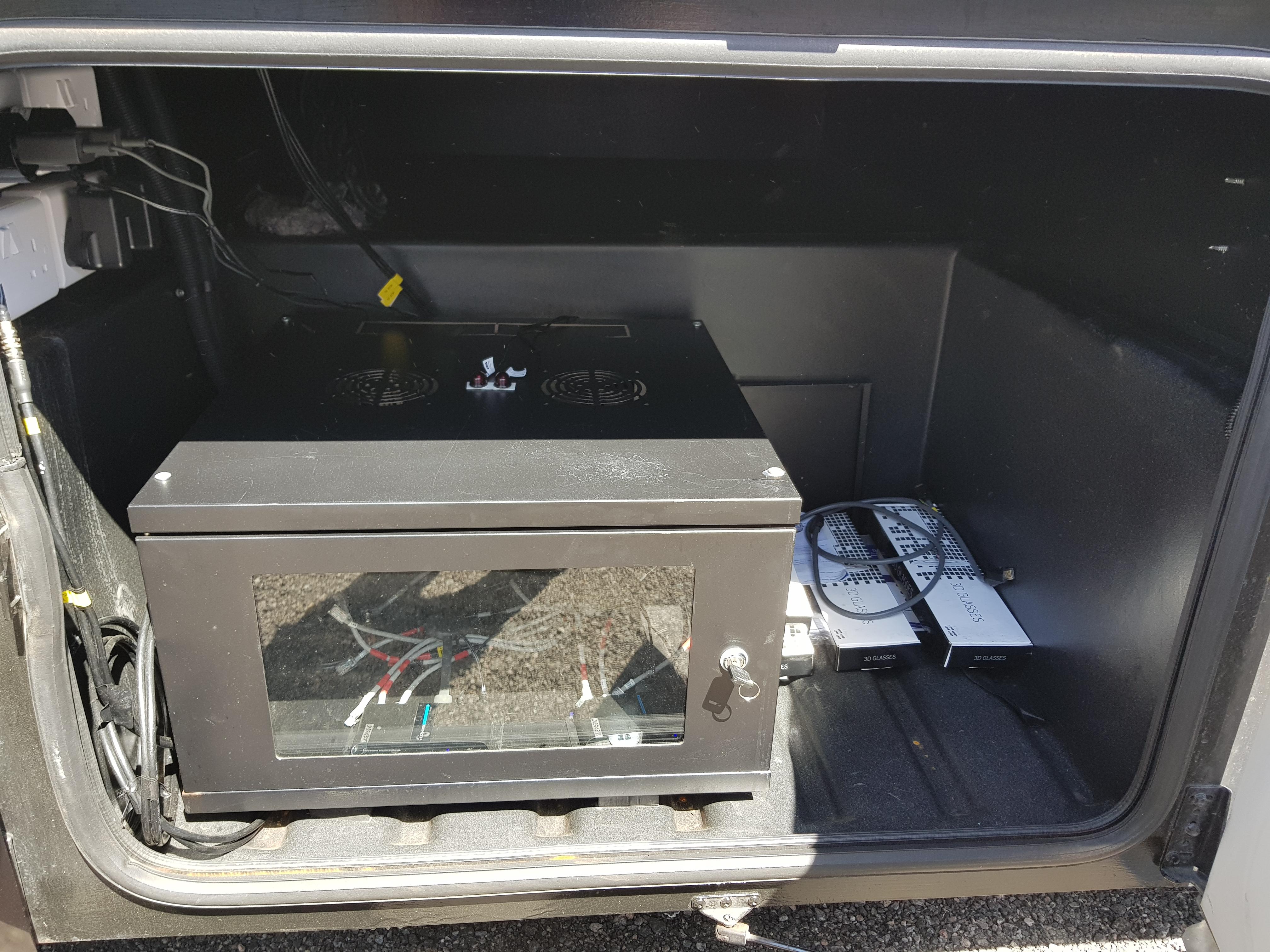 3D TV utrustning.