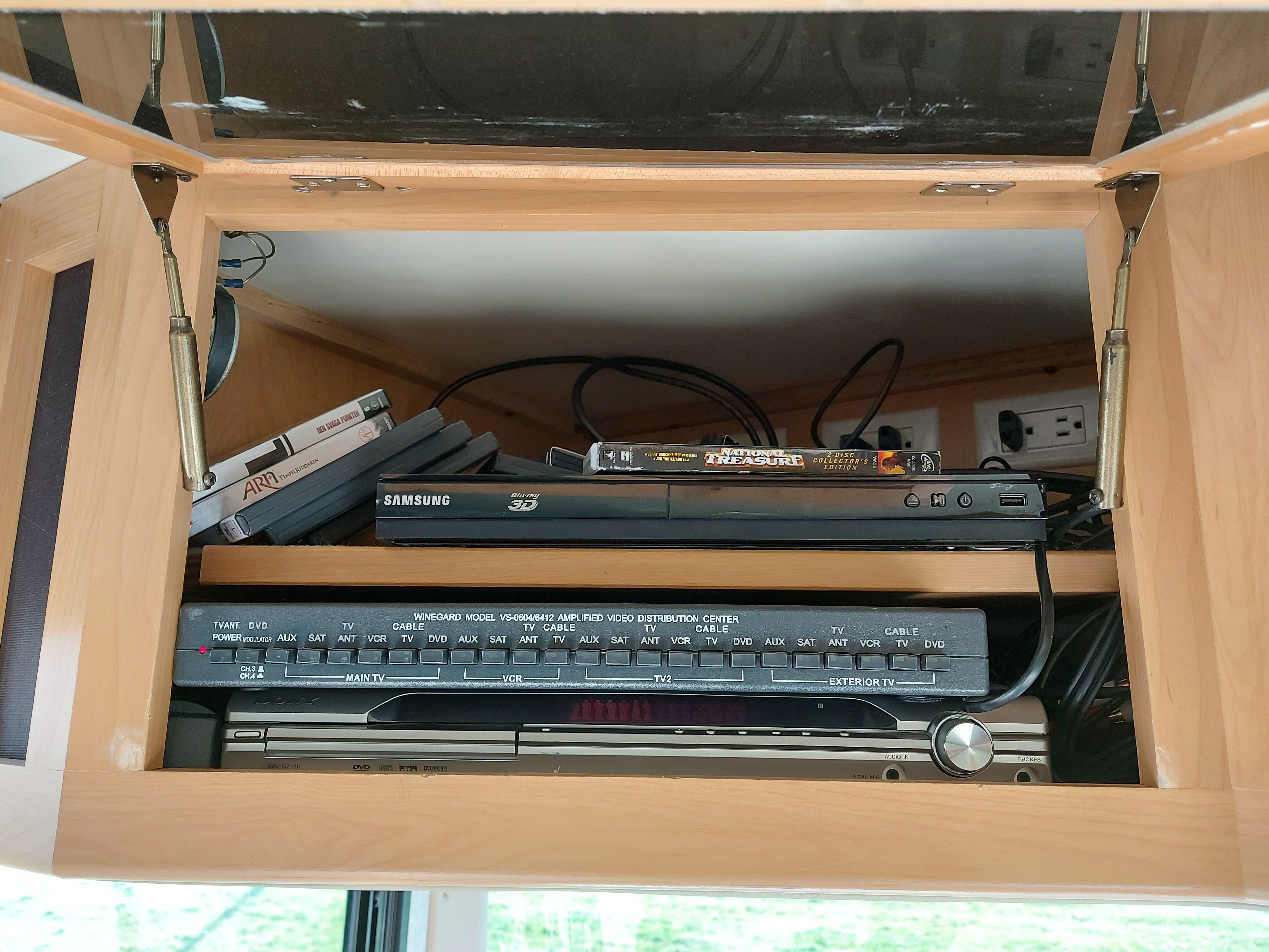 AV utrustning.