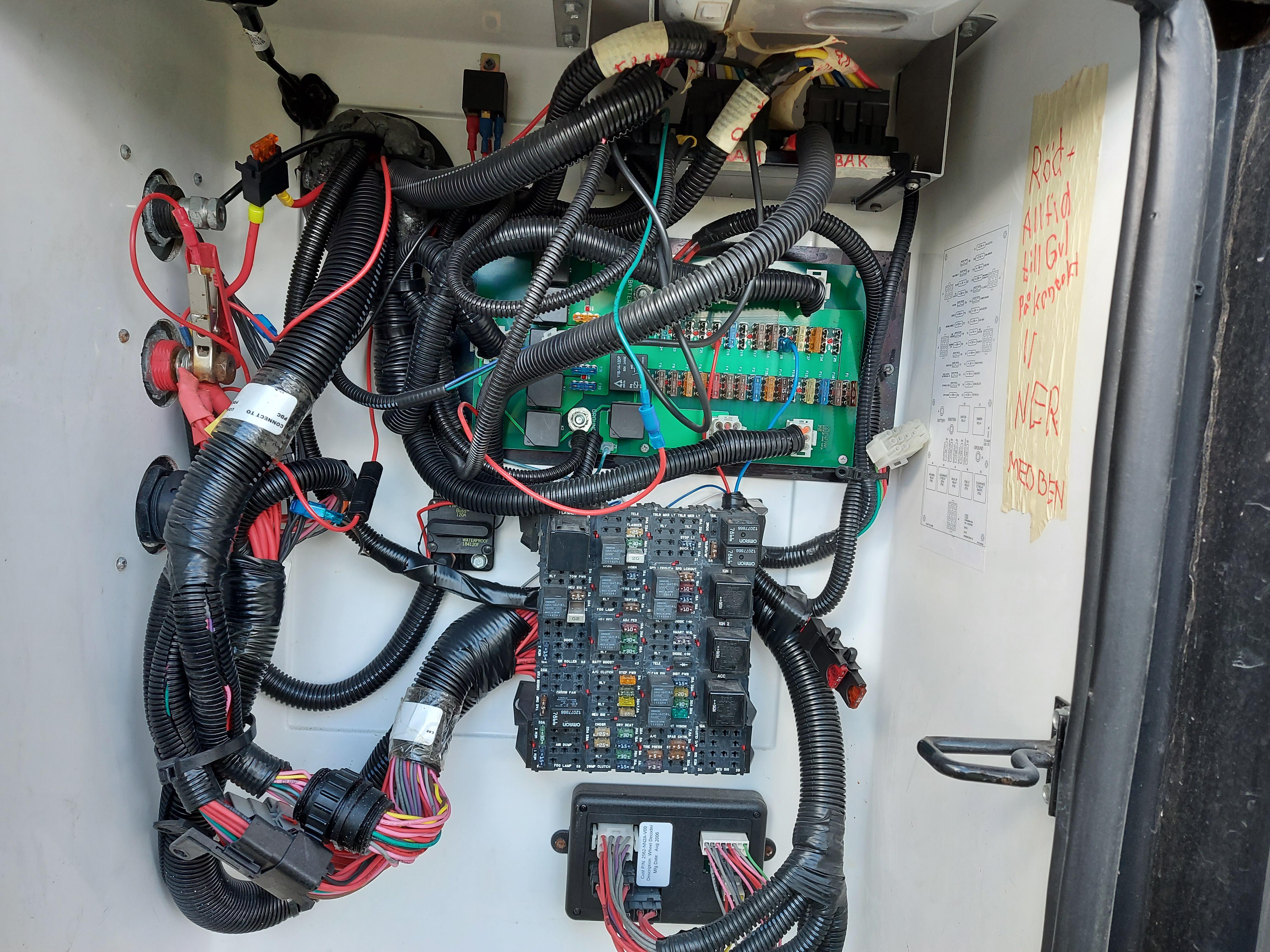 All 12 volt på ett ställe.