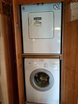 Stacker washer and Dryer.