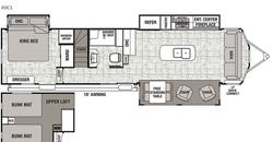 40 CL Loft Planlösning