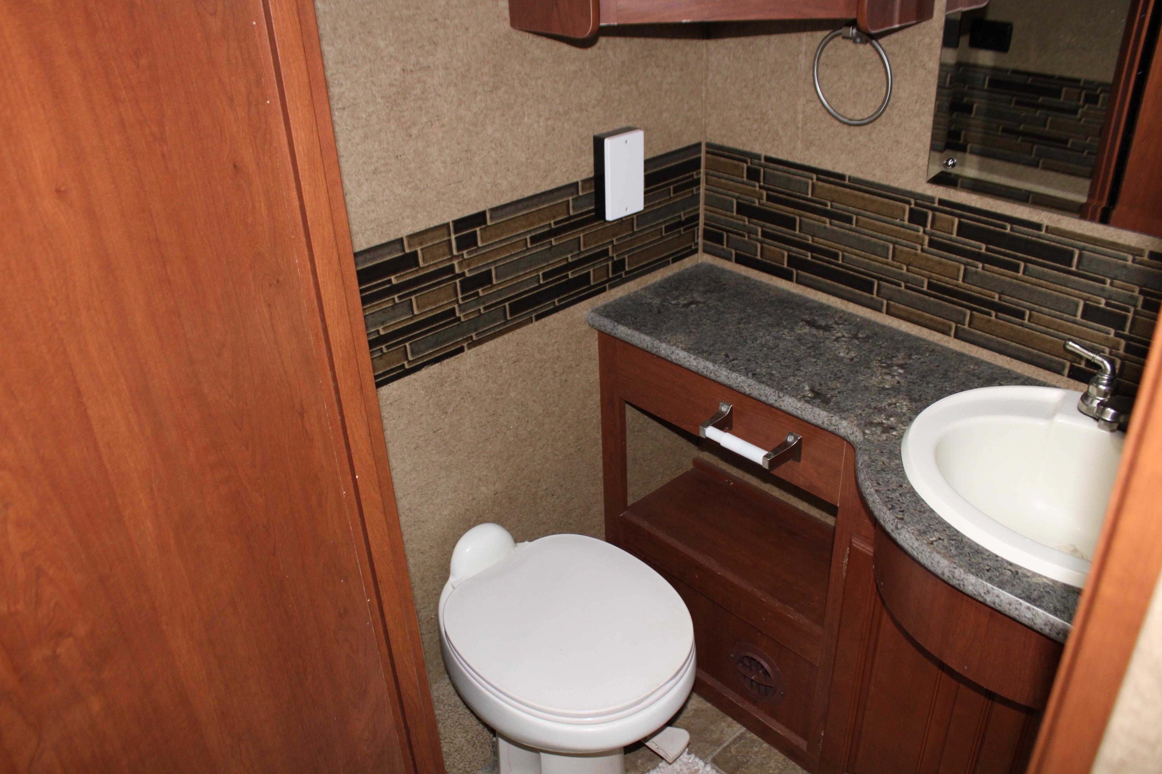 Toaletten.