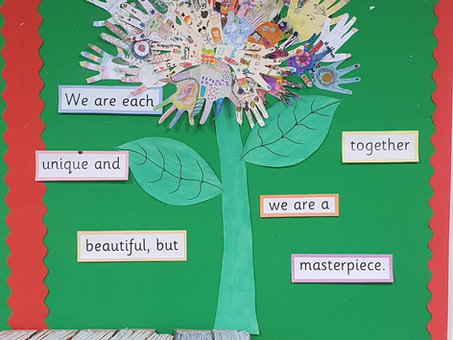 Together we are a masterpiece!