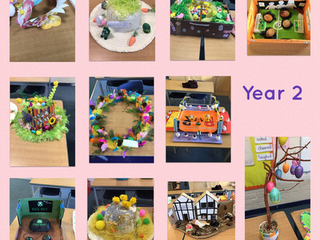 Easter in Year 2