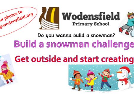 Build a Snowman Challenge
