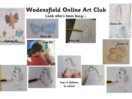 Wodensfield Online Art Club
