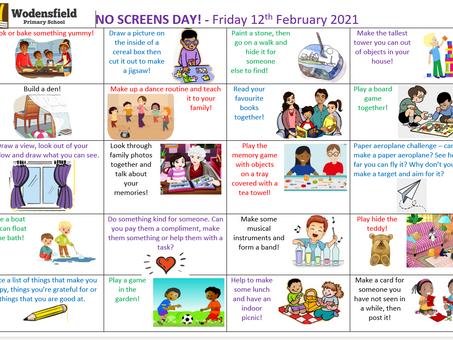 No Screen Friday